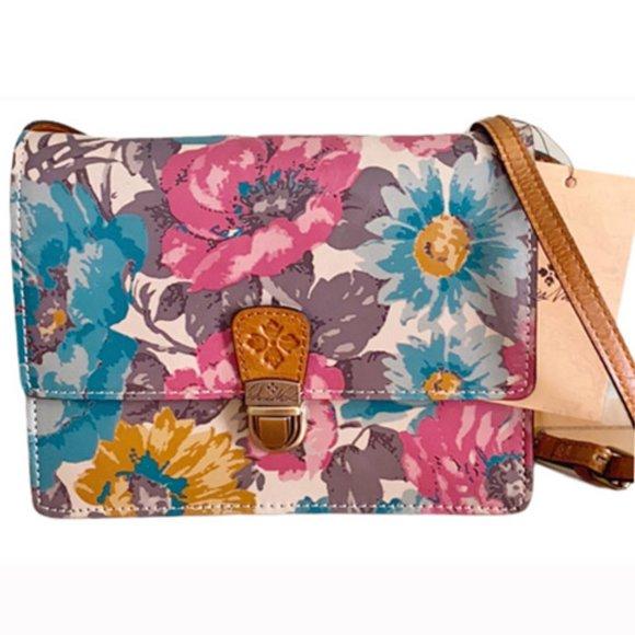 Patricia Nash First Bloom Laurentina Crossbody Bag